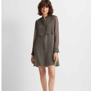 Club Monaco Bruksyde Silk Dress